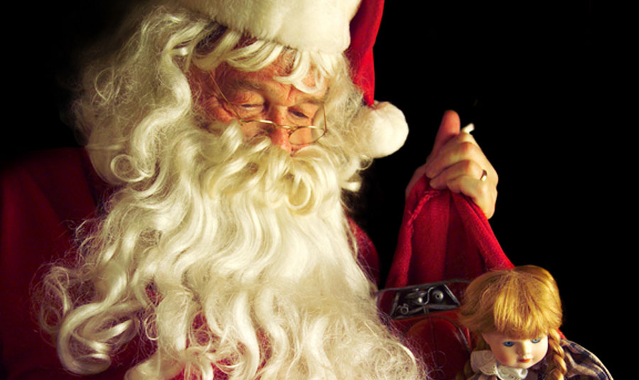 Visit Santa in his Paso Robles downtown holiday home!