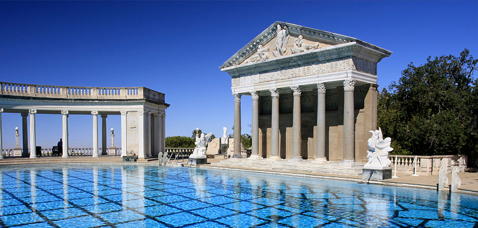 Hearst Castle at California