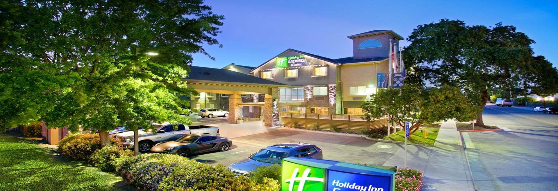 Location of California Hotel