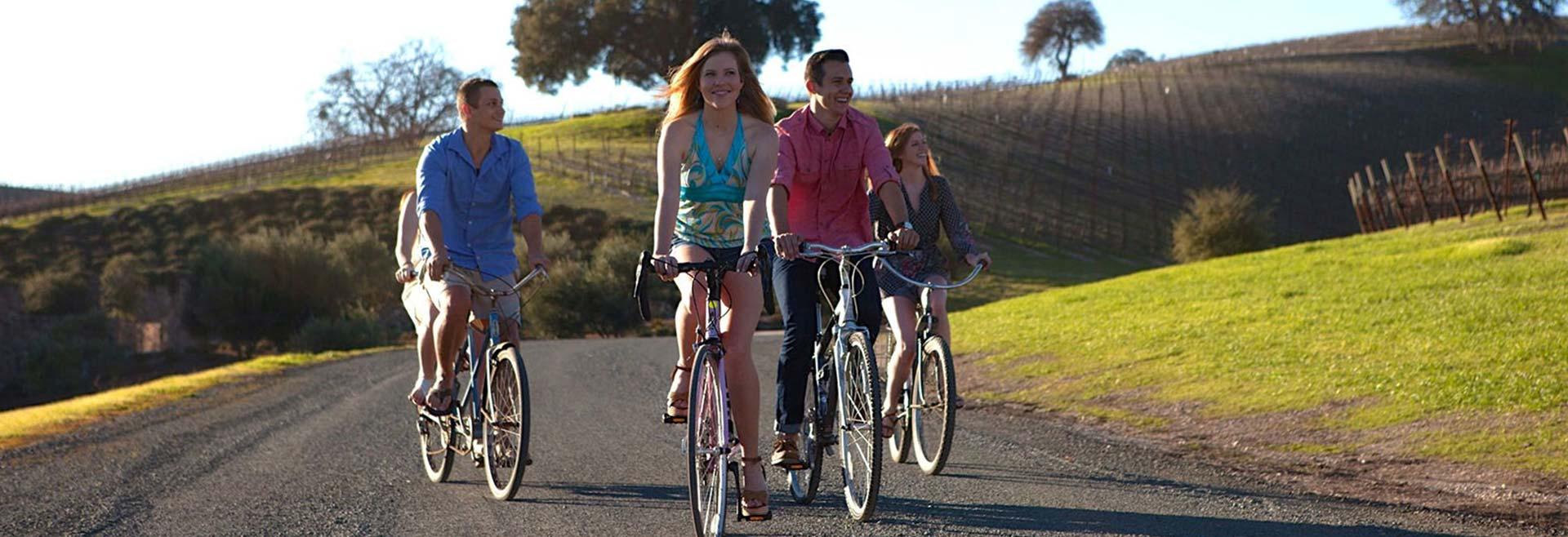 Paso Bike Tours at Paso Robles, California