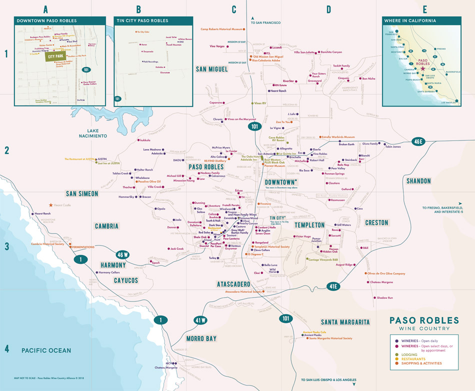 Master Map Paso Wine