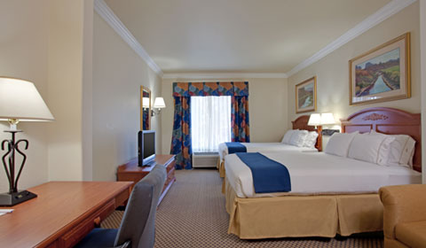 Rooms at Holiday Inn Express Hotel & Suites - Paso Robles, California